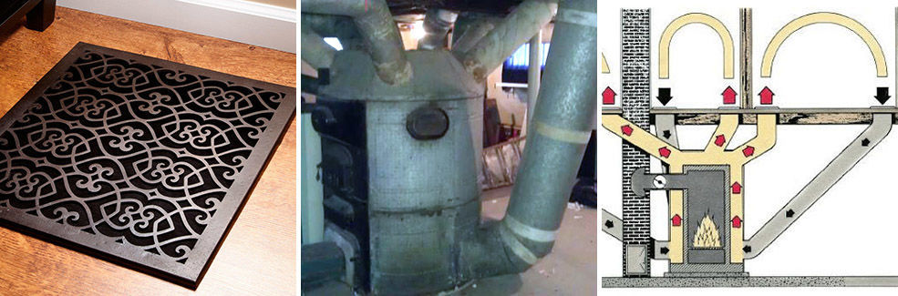 Three Furnace / Ducting Pics