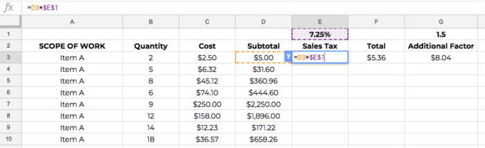 Construction-Estimate-Spreadsheet-Template-Absolute-Reference