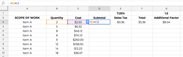 construction estimate spreadsheet template copy and paste 03