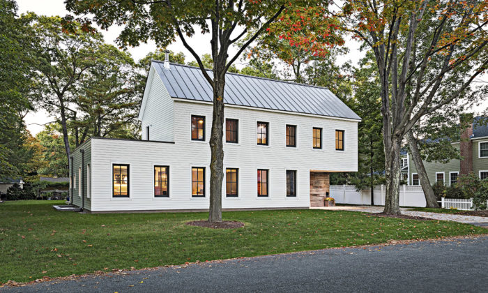 in a small amount of time matt omalia and the team at go logic have made a big impact on what it means to design and build a home in the northeast - New Home Architecture