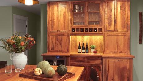 Custom Built Hutch Cabinet