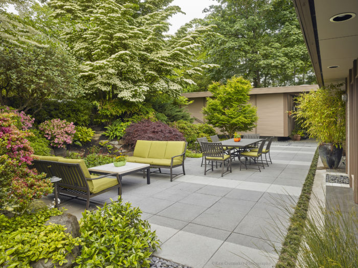 This elegant design for a courtyard landscape and patio is included in a  new book New Landscaping Ideas That Work by Julie Moir Messervy. - A Backyard Retreat - Fine Homebuilding