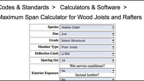 deck load calculator