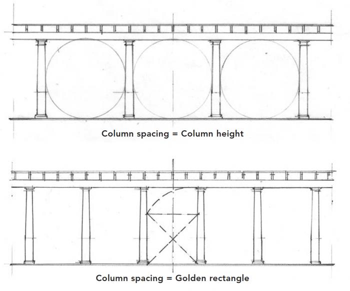 Column spacing
