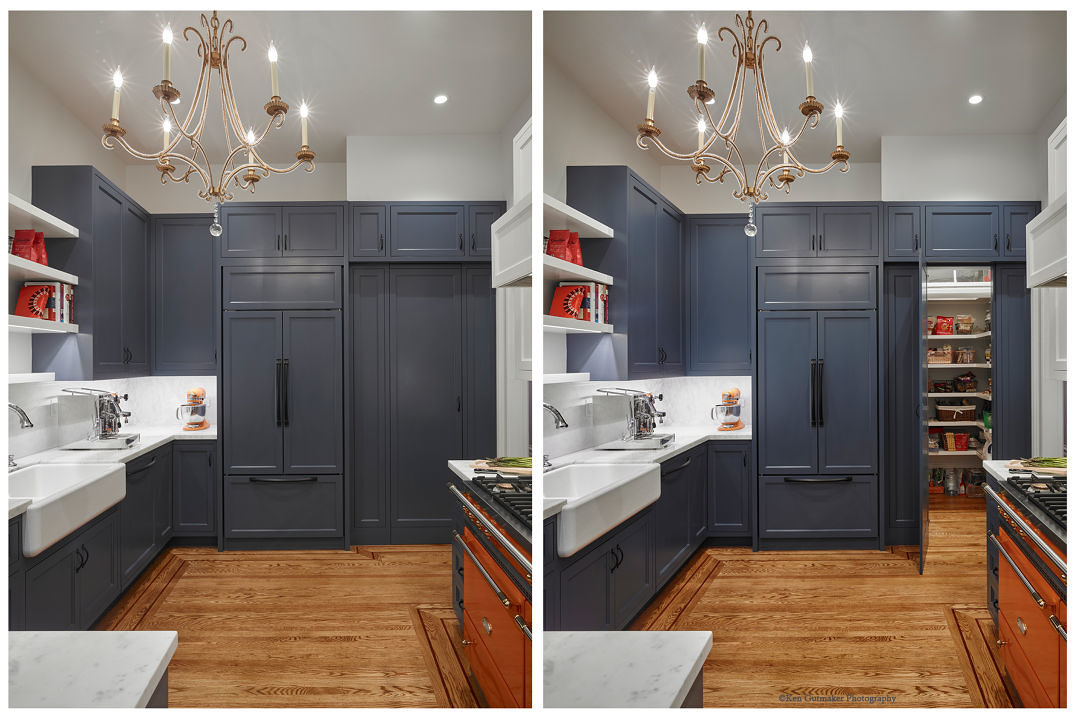 Well Hidden Pantry Fine Homebuilding