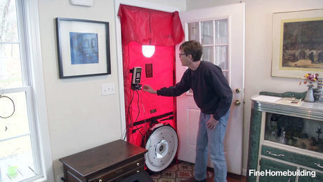 How to Set Up and Use a Blower Door