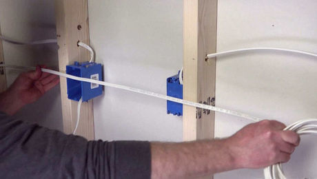 Fantastic How To Add A New Outlet To An Existing Run Fine Homebuilding Wiring 101 Capemaxxcnl