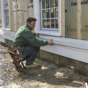 Gable Wall Side Trim And Raise Fine Homebuilding