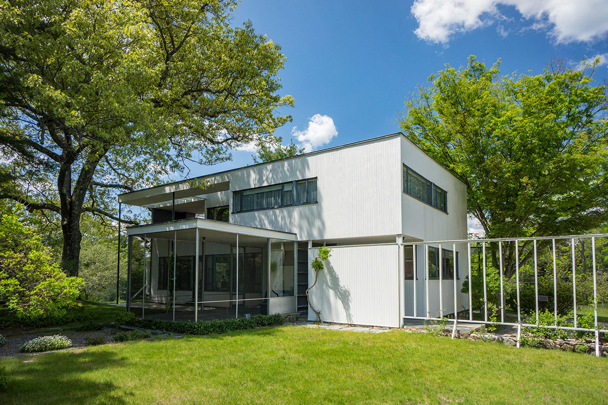 Walter gropiuss gropius house 1938 in lincoln mass is a national landmark and a shining example of the midcentury modern styles emphasis on