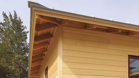 Elegant Eaves for a Truss Roof