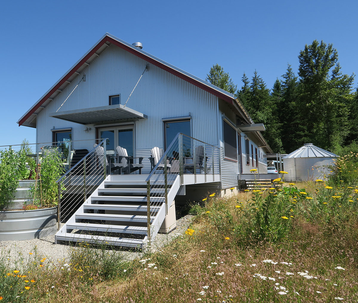 Carnation passive house fine homebuilding for Fine home building