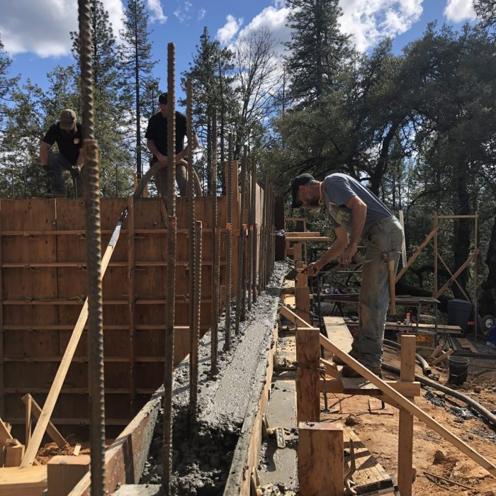 Forming And Placing Concrete For The Garage Fine Homebuilding