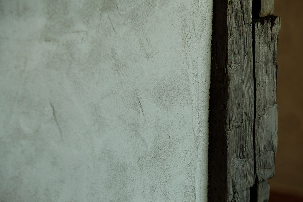 lime-plaster wall