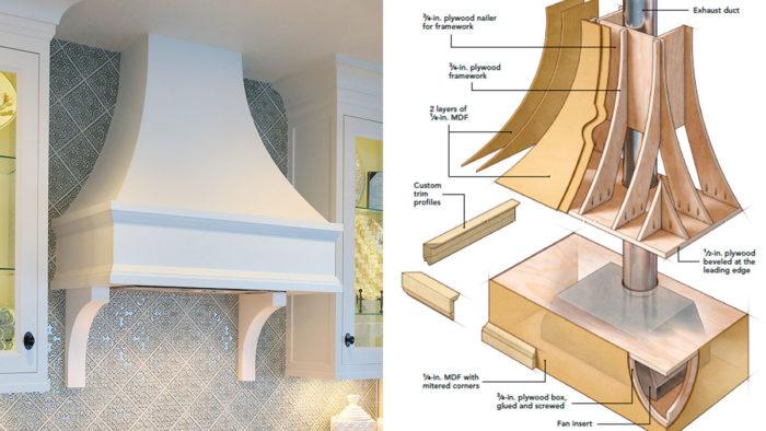 Build A Custom Range Hood Fine Homebuilding
