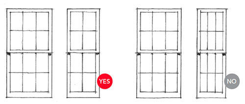 Window proportions