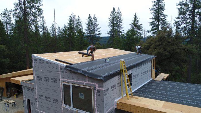 Air Sealing A High Performance House Fine Homebuilding