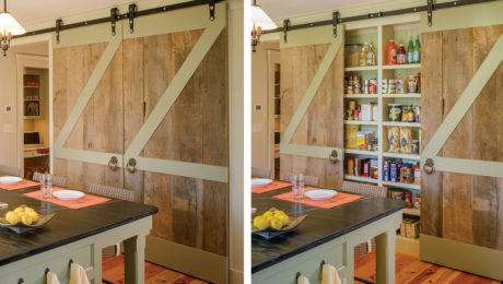 kitchen barn doors