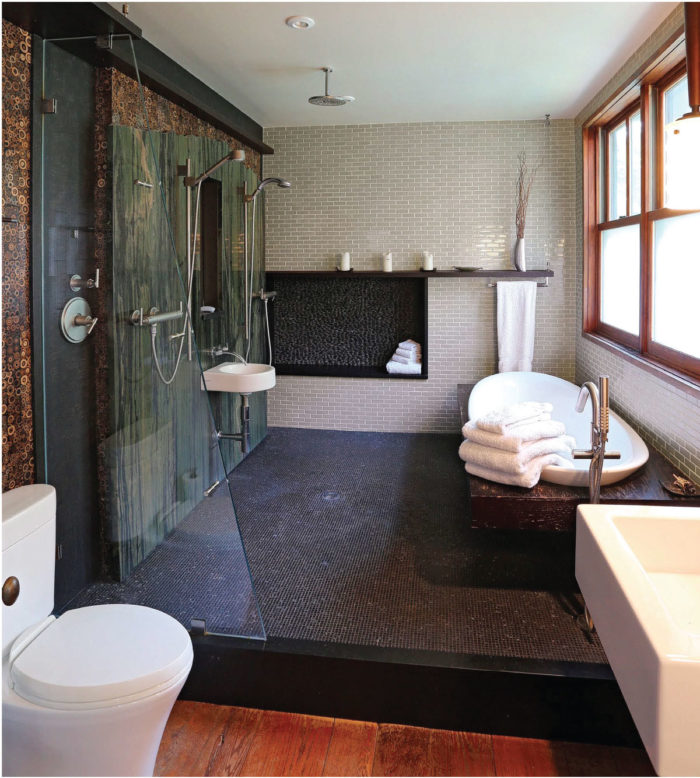 Asian Inspired Kitchen And Bathroom Remodel In A Craftsman Bungalow
