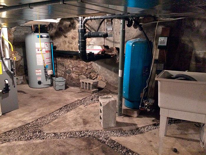 Spenser's basement