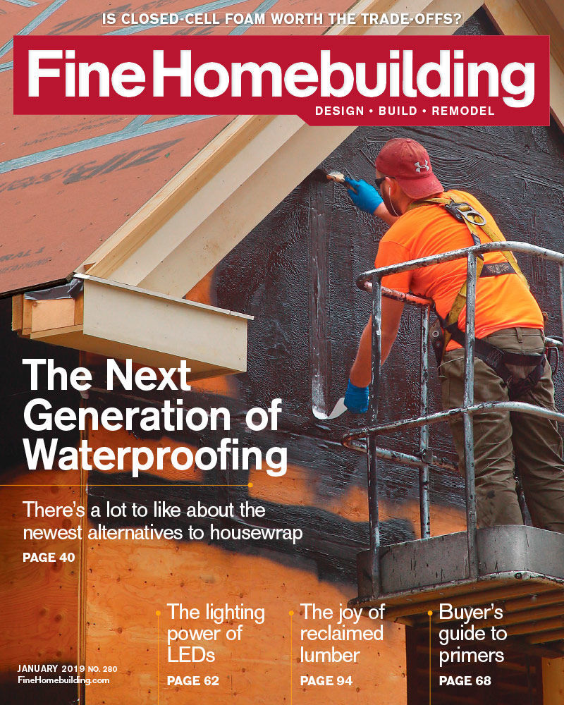 Issue 280 January 2019 Fine Homebuilding