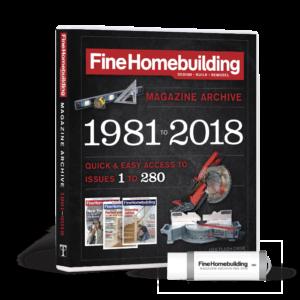 cover fine homebuilding 2018 magazine archive