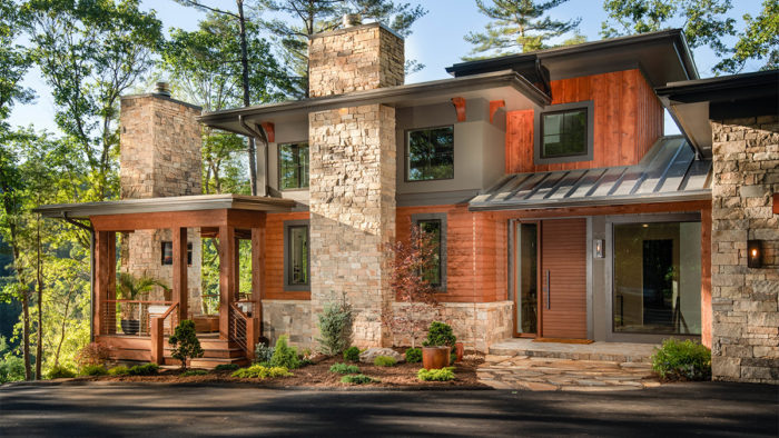 The Campbell Residence In Asheville, N.C., Is An Inspired Example Of The  U201cmountain Modernu201d Style That Is Gaining Popularity In Many Regions Across  The ...