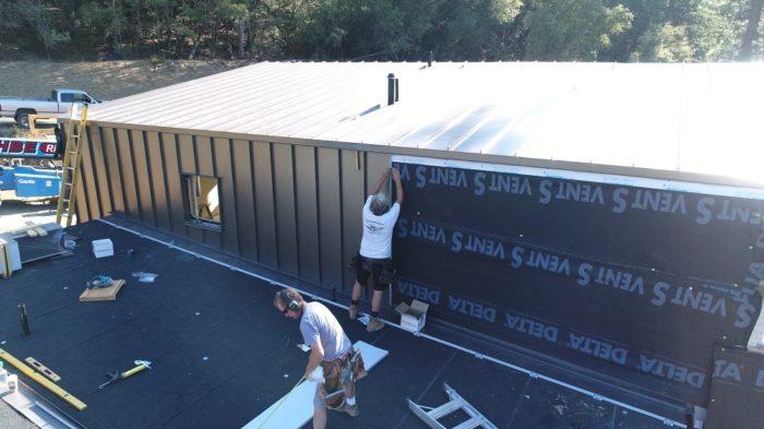 standing-seam metal roof