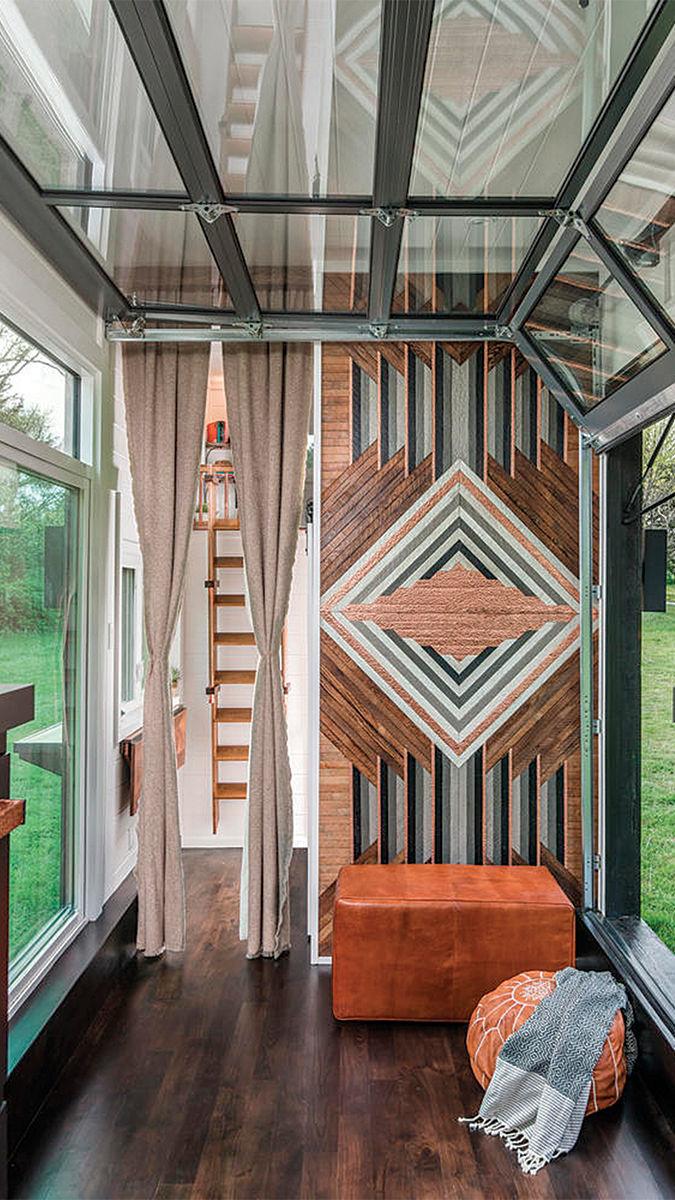 Alek Lisefski Tiny House new frontier tiny homes - fine homebuilding