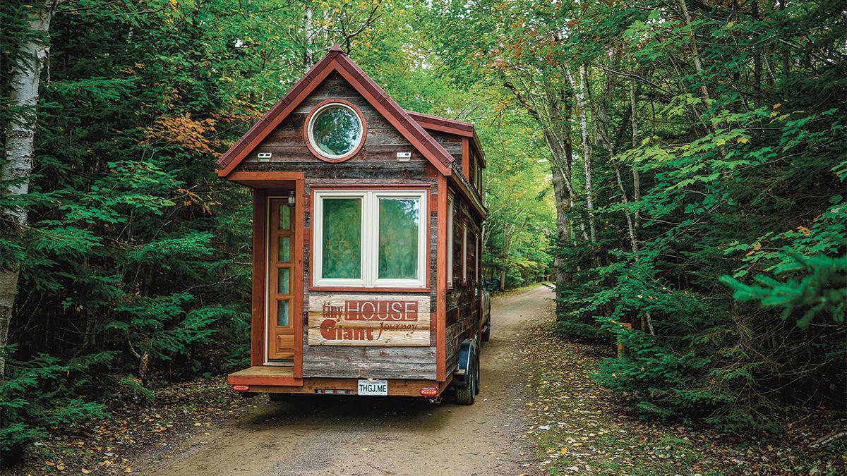 Alek Lisefski Tiny House tiny house, giant journey - fine homebuilding