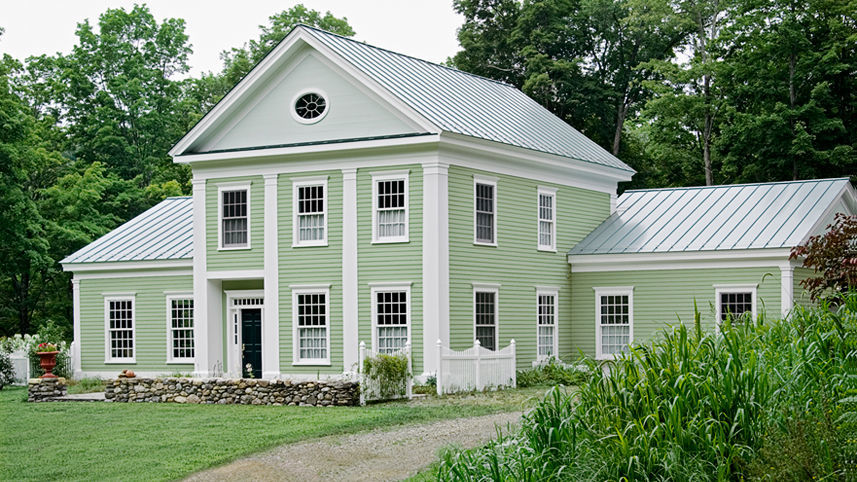 A Nod To Greek Revival Style Architecture 1825 1860