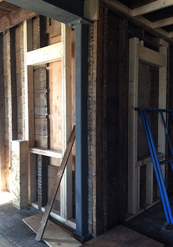 When Wood Falls Short Steel I Beams Do The Trick Fine Homebuilding