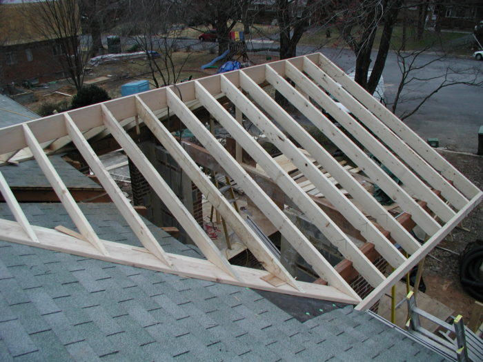 Tying New Roof Into Old Angle Of Valley Boards Fine