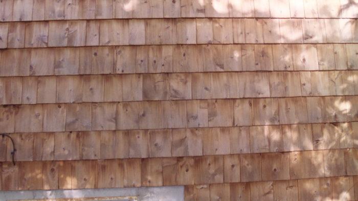 Cleaning Restoring Original Look Of Ext Cedar Shingles