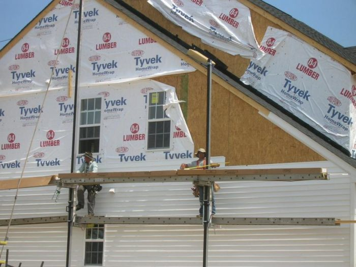 No house wrap - Fine Homebuilding
