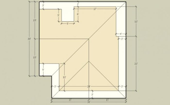 Hip Roofs With Unequal Overhangs Fine Homebuilding