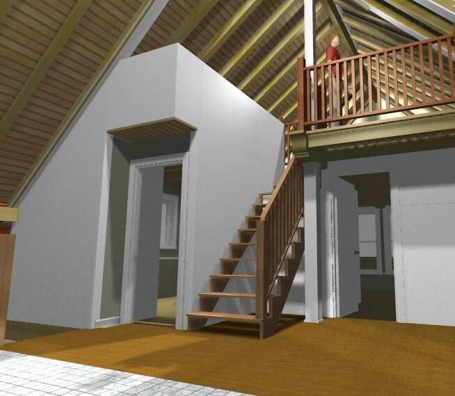 Do winder stairs make sense? - Fine Homebuilding