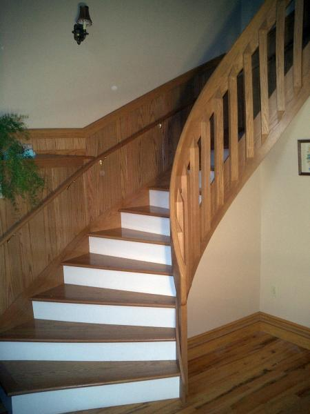 building a turn in a set of stairs - Fine Homebuilding