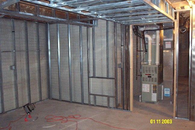 Framing Basement With Metal Studs Fine Homebuilding