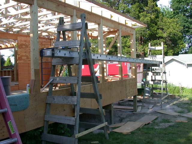 Sawhorses As Scaffolding Fine Homebuilding