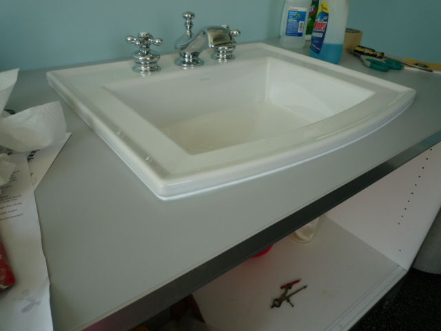 Caulking Around Sink What Color Pics Fine Homebuilding