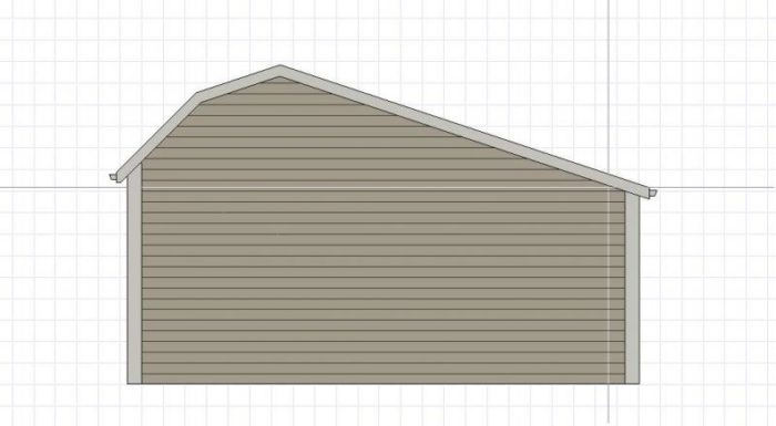 Roof Addition To Shed With Gambrel Roof Fine Homebuilding