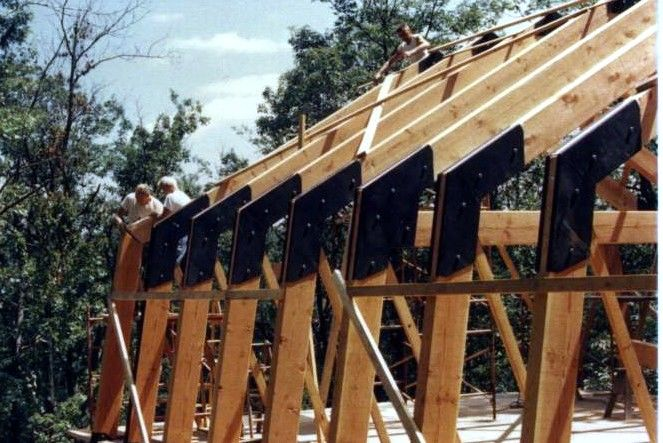 Gambrel Roof Construction Fine Homebuilding