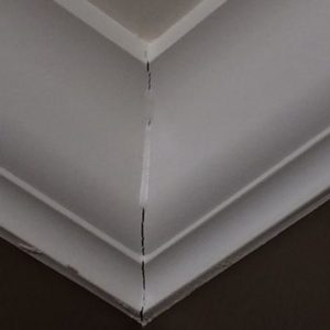Failing Crown Molding Joints And Failing Window Trim