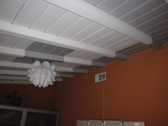 Rigid Foam Board Between Rafters In Exposed Ceiling Fine