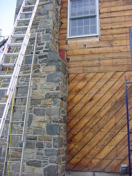 Gap Where Sheathing Meets Chimney Fine Homebuilding