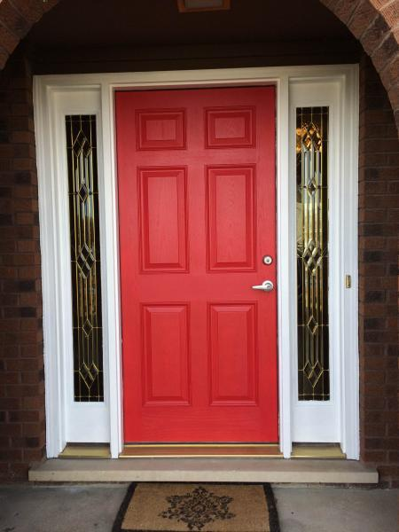Removal And Replacement Of Entry Door Sidelights Fine
