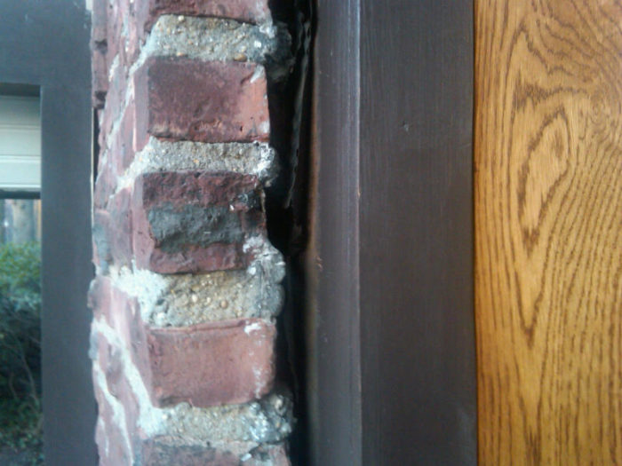 Big Gaps Between Brickmold And Brick Veneer New Photos