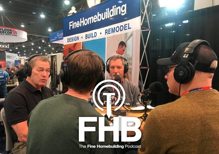 Podcast Episode 161: Live from Builder's Show: Misconceptions about radiant heat and new rules for hardwood floors