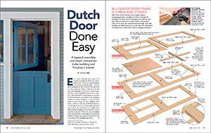 Video Build A Dutch Door Fine Homebuilding