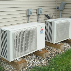 Mitsubishi mini split heat pumps